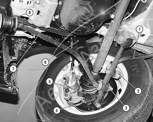 Фото №8 - ремонт подвески ВАЗ 2110 своими руками