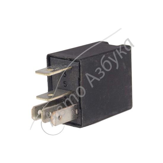 Реле черное 10А 12V (5 контактов) на ВАЗ Лада Ларгус, Датсун, Веста - фото 10401
