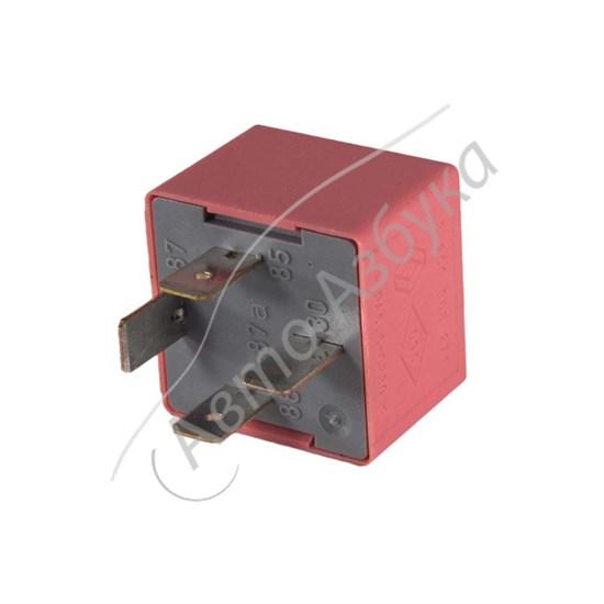 Реле розовое 40А 12V (4 контакта) на ВАЗ Ларгус, Веста, Датсун - фото 10404