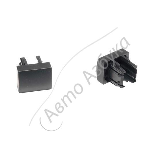 Заглушка вместо кнопки (консоль панели приборов) на ВАЗ Приора, Гранта - фото 10485