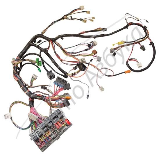 Жут проводов панели приборов в сборе с монтажным блоком на Калина - фото 10611