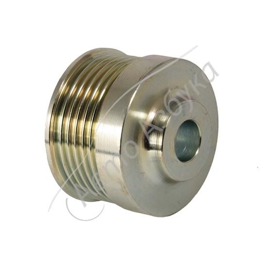 Шкив генератора нового образца усиленный (инжектор) d17 на ВАЗ 2112 - фото 10662