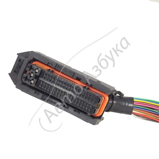 Разъём ЭБУ ЯНВАРЬ 7.2 (BOSH 7.9.7, SIMK43, МИКАС) 81 контакт с проводами - фото 10815