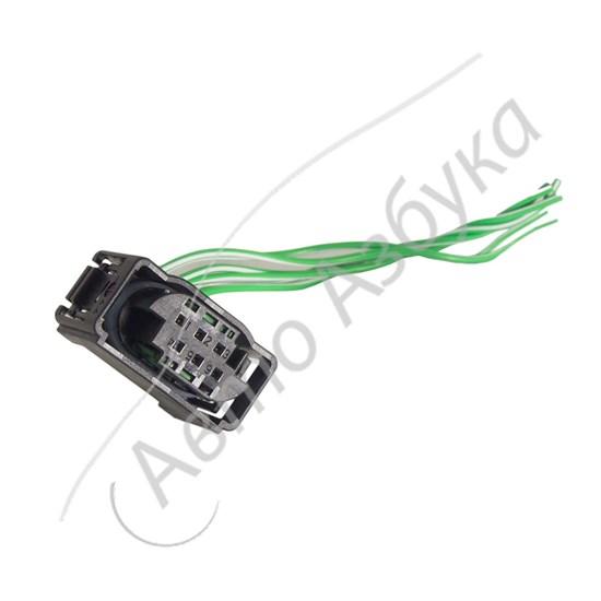 Разъем электронной дроссельной заслонки Bosch (6 клемм) на ВАЗ Приора - фото 10840