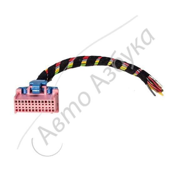 Разъем контроллера GM Январь 4 инжектор 24 клемм на ВАЗ 2110 - фото 10866