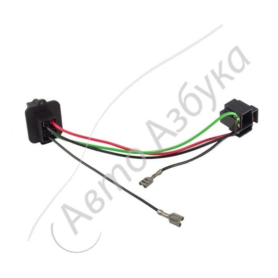 Жгут проводов передней блок фары для лампы H4 на ВАЗ Классика - фото 10947