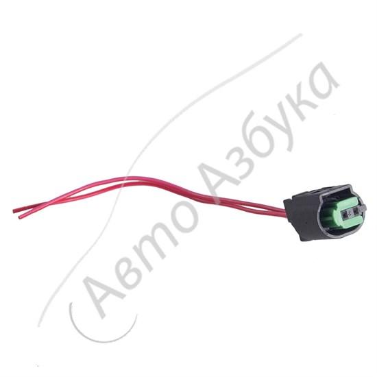 Разъем к датчику температуры или датчику ABS (2 клеммы, тип мама) - фото 10965