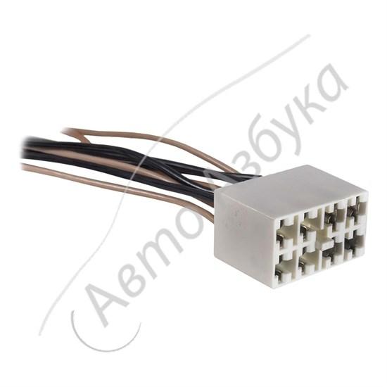 Разъём выключателя на щитке приборов (8 клемм) на ВАЗ Классика, Нива - фото 11013