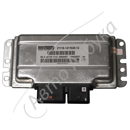 ЭБУ 21116-1411020-12 М74 8V E-GAS на ВАЗ Приора - фото 11092