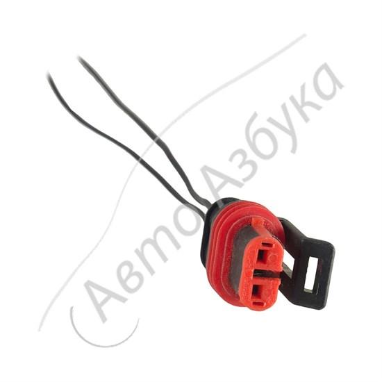 Разъём соединительный с проводами (2 клеммы) тип мама - фото 11129
