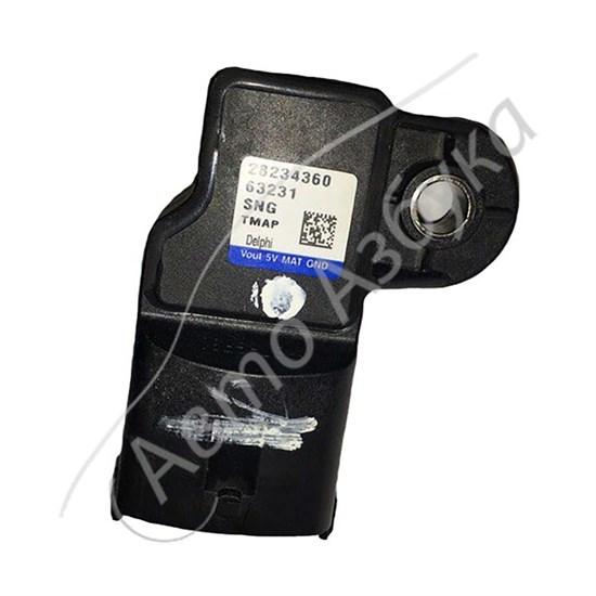 Датчик абсолютного давления и температуры (4 контакта) на ВАЗ Приора, Гранта - фото 11364