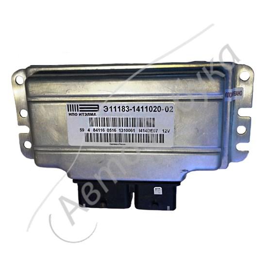 ЭБУ М74 E-GAS (V8 L1.6 Е-4) 2 датчика кислорода - фото 11391