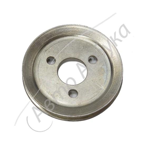 Шкив привода насоса ГУР (клиновой ремень) старого образца на ВАЗ Нива - фото 11434