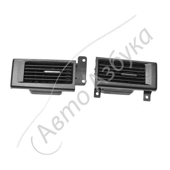 Сопла боковые (панели приборов) с хромированным поводком на ВАЗ Приора - фото 11486