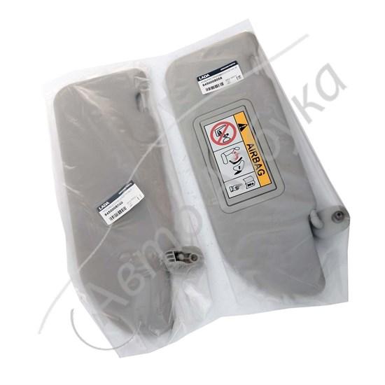 Козырек солнцезащитный с зеркалом (комплект) на ВАЗ Веста SW CROSS люкс - фото 11532