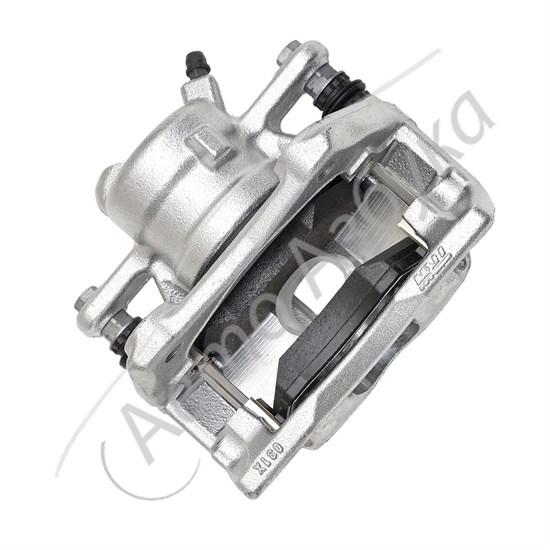 Суппорт переднего тормоза (правый) 16 клапанов на ВАЗ Ларгус - фото 12233