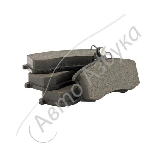 Колодки передние тормозные Hi-Q (комплект 4 шт.) на ВАЗ 2108, 21099, 2115 - фото 12367
