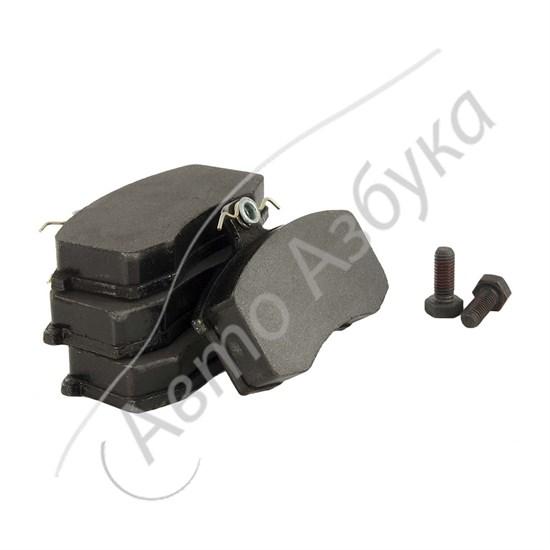 Колодки передние тормозные Рremier (комплект 4 шт.) на ВАЗ 2108, 21099, 2115 - фото 12369