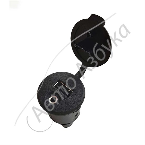 Розетка USB и AUX (2 в 1) штатная оригинальная на Веста, Икс-Рей - фото 12901