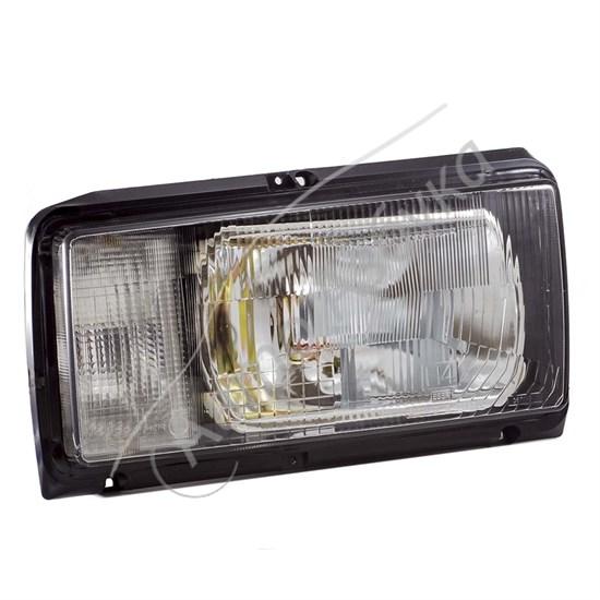 Блок фара с белыми указателями поворота без ламп на ВАЗ-2105 - фото 8388