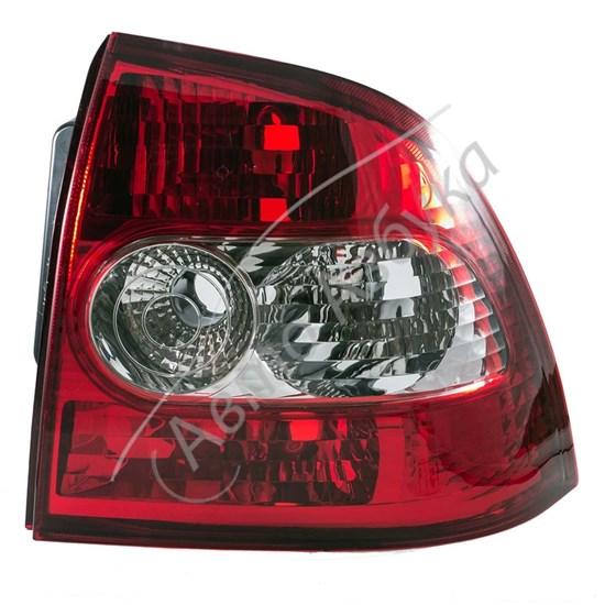 Корпус заднего фонаря с рассеивателем без ламп на ВАЗ Приора - фото 8397