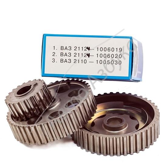 Шкив ГРМ зубчатый 21124 (16V) комплект на ВАЗ Приора - фото 8461