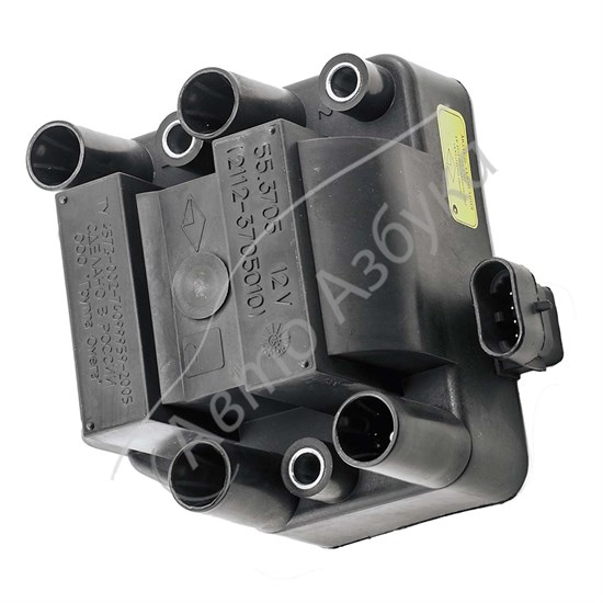 Модуль зажигания 55.3705 (катушка  зажигания) на ВАЗ 2108-2112 - фото 8504