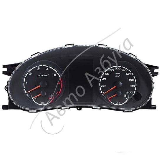 Комбинация приборов с навигатором на Калина Спорт - фото 8531