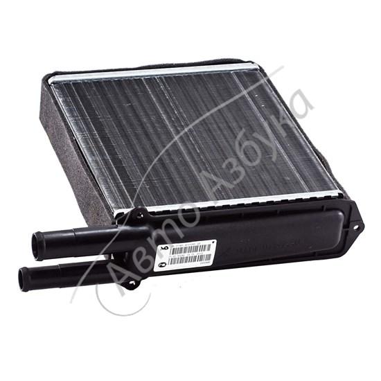 Радиатор печки (отопителя) алюминиевый с уплотнителем в сборе на Калина - фото 8585