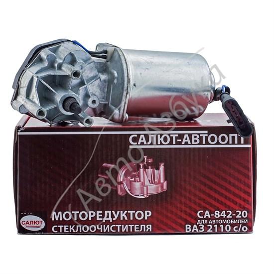 Моторедуктор стеклоочистителя толстый вал (старого образца) на ВАЗ 2110-2112 - фото 8602