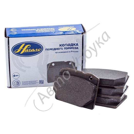 Колодки тормозные передние (комплект 4 шт.) на ВАЗ Классика - фото 8637