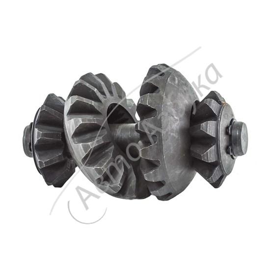Ремкомплект дифференциала (шестерни, ось сателлиты) на ВАЗ 2108-09, Калина - фото 8793