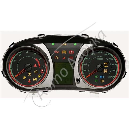Комбинация приборов 2192-3801010-40 (люкс) на ВАЗ Гранта, Калина 2 FL - фото 9161