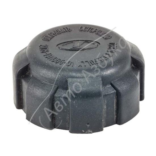 Крышка бачка расширительного в сборе с клапаном нового образца на ВАЗ 2108-10 - фото 9275