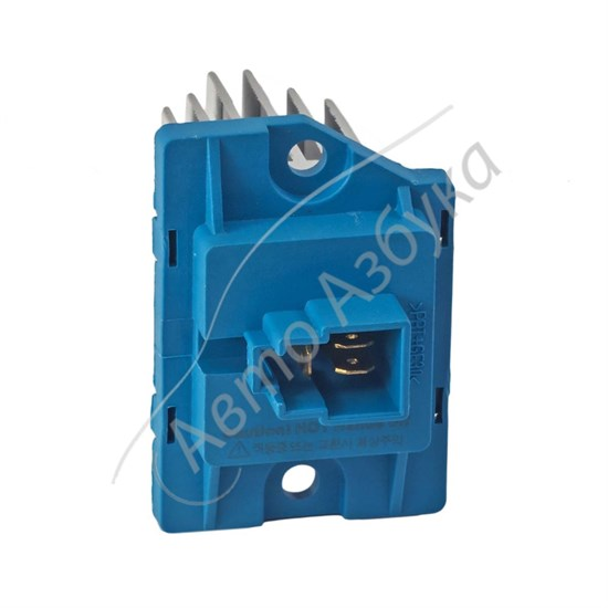 Резистор вентилятора отопителя (добавочное сопротивление) на ВАЗ Приора - фото 9329
