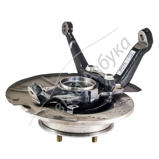 Перфорированный тормозной диск с усиленным ступичным узлом (R15, 24 шлица) - фото 9429