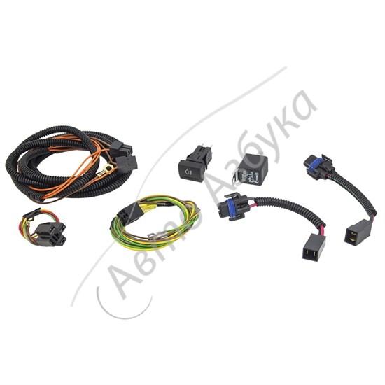 Комплект для подключения противотуманных фар на ВАЗ Гранта, Калина 2 - фото 9449