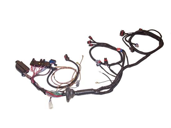 Жгут ЭБУ контроллера проводов системы зажигания на ВАЗ 21074 Классика - фото 9473