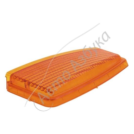 Рассеиватель желтый левый указателя поворота на ВАЗ 2108-21099 - фото 9557