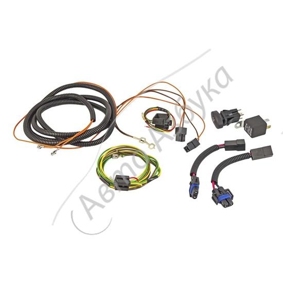 Комплект проводки для подключения противотуманных фар на Калина - фото 9565
