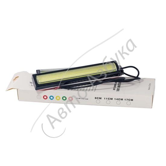Дневные ходовые огни G11 COB DRL водонепроницаемые DC 12 V комплект - фото 9880