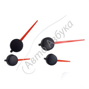 Стрелки панели приборов красные (комплект 4 шт.) на ВАЗ Приора, Калина