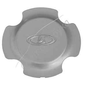Колпачок литого диска колеса R15 серебристый (завод) на ВАЗ Гранта