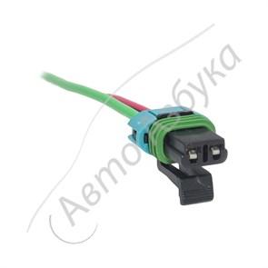 Разъем к вентилятору отопителя Panasonic (2 клеммы) на ВАЗ Калина, Приора