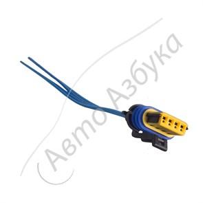 Разъём к регулятору холостого хода (4 клеммы) инжектор на ВАЗ 2112-2115, Нива