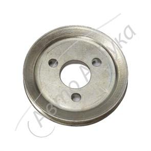 Шкив привода насоса ГУР (клиновой ремень) старого образца на ВАЗ Нива