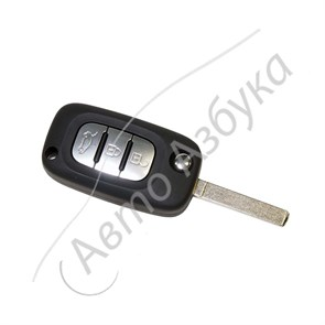 Выкидной ключ зажигания с чипом 806012362СR (оригинал) на ВАЗ Веста, Икс Рэй