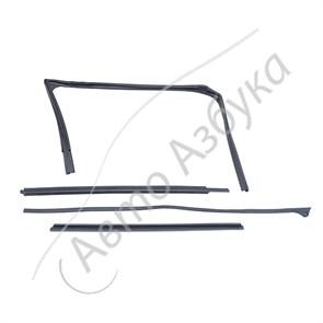 Уплотнители стекла верхние передней правой двери (комплект) на Лада Веста