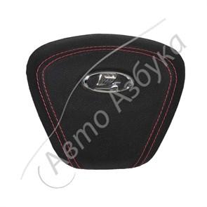 Подушка безопасности водителя экокожа (МУЛЯЖ) на Лада Веста, Икс Рей