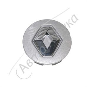 Крышка ступицы, заглушка, оригинал, цвет серебро на Веста, ИксРей, Рено